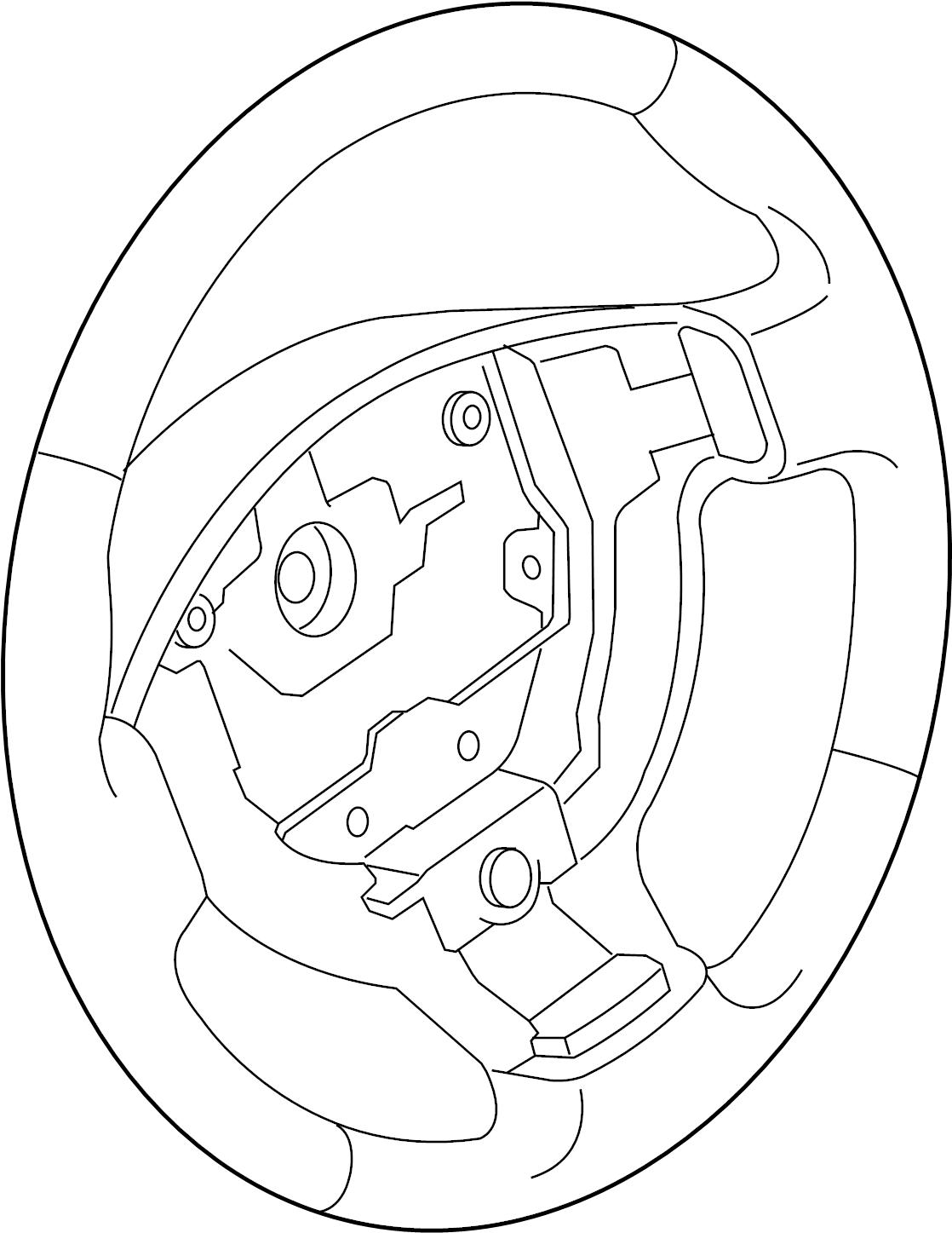 Nissan Sentra Steering Wheel. Sentra; 2.0L; w/o Leather