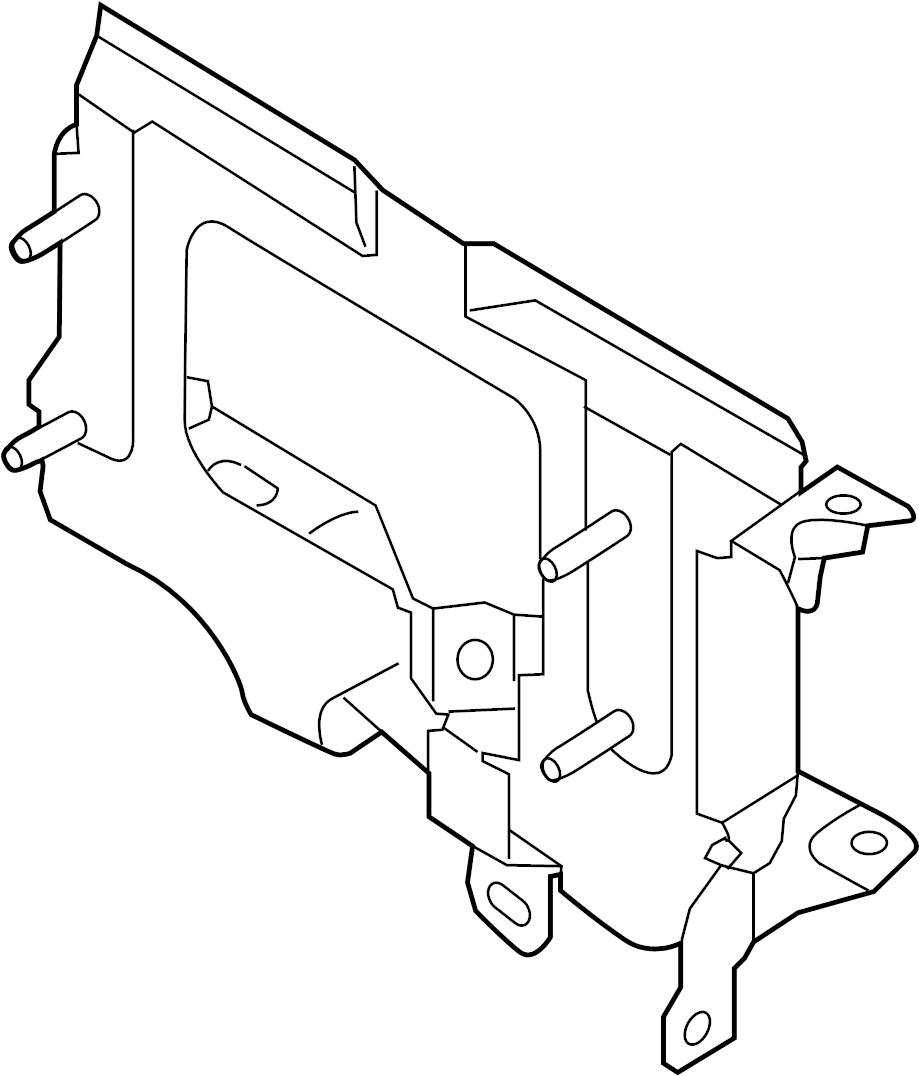 Nissan Sentra Engine Control Module Bracket. 1.6 LITER. 1