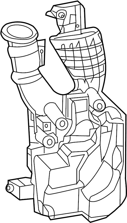 Nissan Sentra Engine Air Intake Resonator. 1.8 LITER