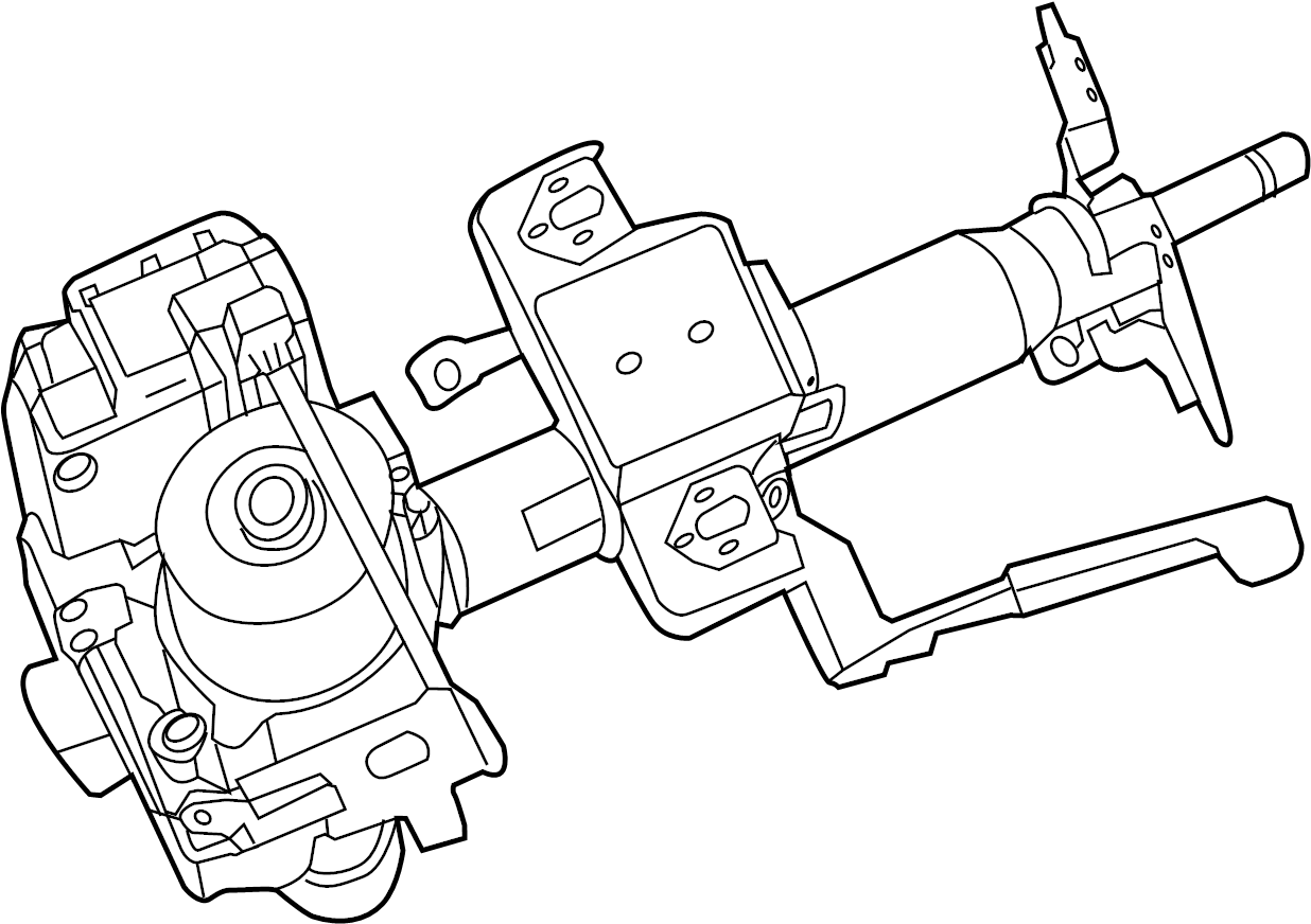 Nissan Sentra Steering Column. 1.8 LITER, type 2. Sentra