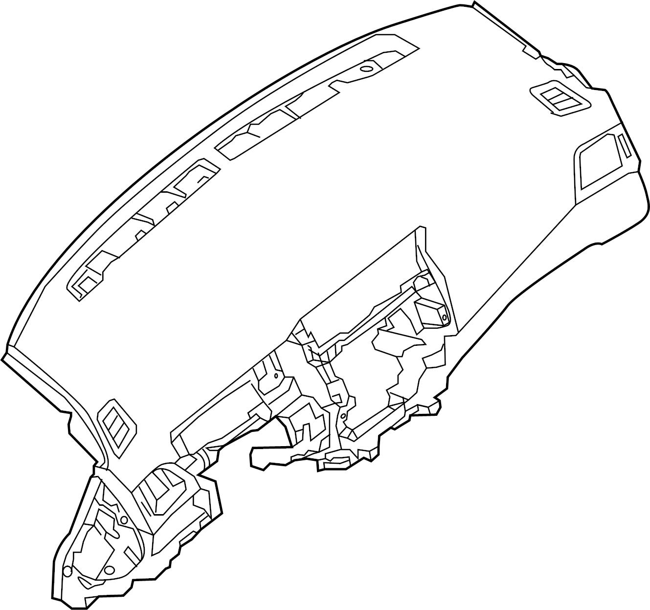 Nissan Sentra Dashboard Panel. Instrument, Make