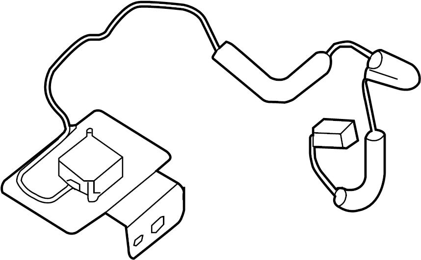 Nissan Altima Gps navigation system antenna. Altima