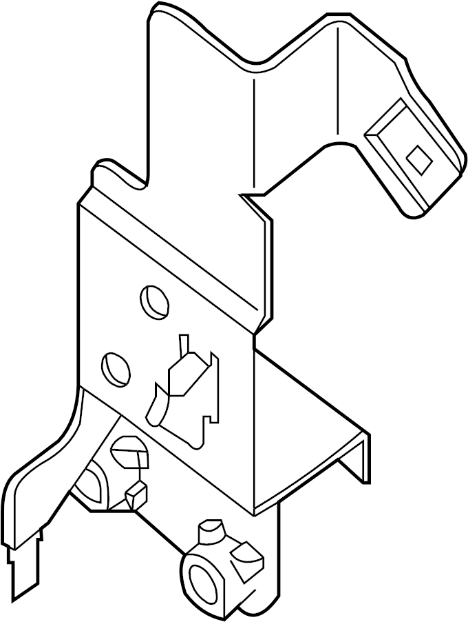 Nissan Maxima Junction Block Bracket. INSTRUMENT PANEL