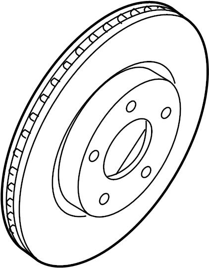 Nissan Maxima Disc Brake Rotor. FRONT, Left, Make