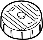 Nissan Altima Brake Master Cylinder Reservoir Cap. Replace
