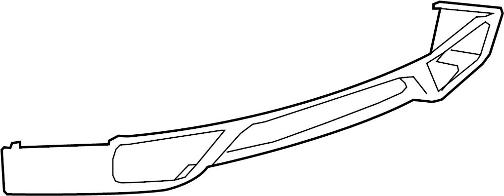 Nissan GT-R Bumper Cover. W/O NISMO, 2009-2016, lower