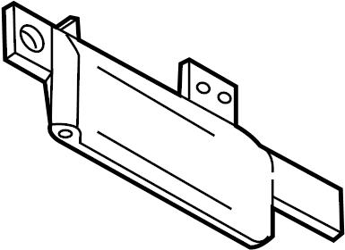 Nissan Versa Keyless Entry Antenna. Instrument, Panel