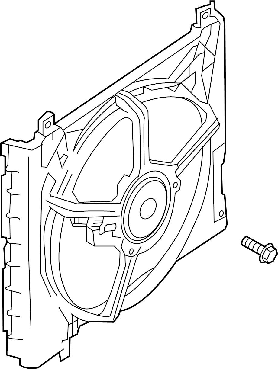 Nissan Versa Fan. Engine. Blade. Cooling. Manual trans