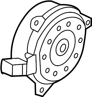 Nissan Versa Note Engine Cooling Fan Motor. May, Trans
