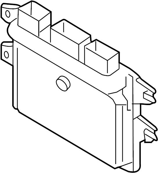 Nissan Versa Engine Control Module. Auto trans, CVT. Versa