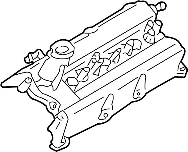 Nissan Maxima Engine Valve Cover. 3.0 LITER, rear. I30