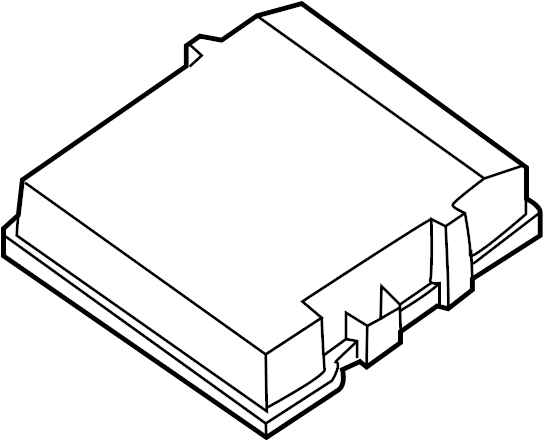 Nissan Pathfinder Armada Fuse Box Cover (Left, Upper
