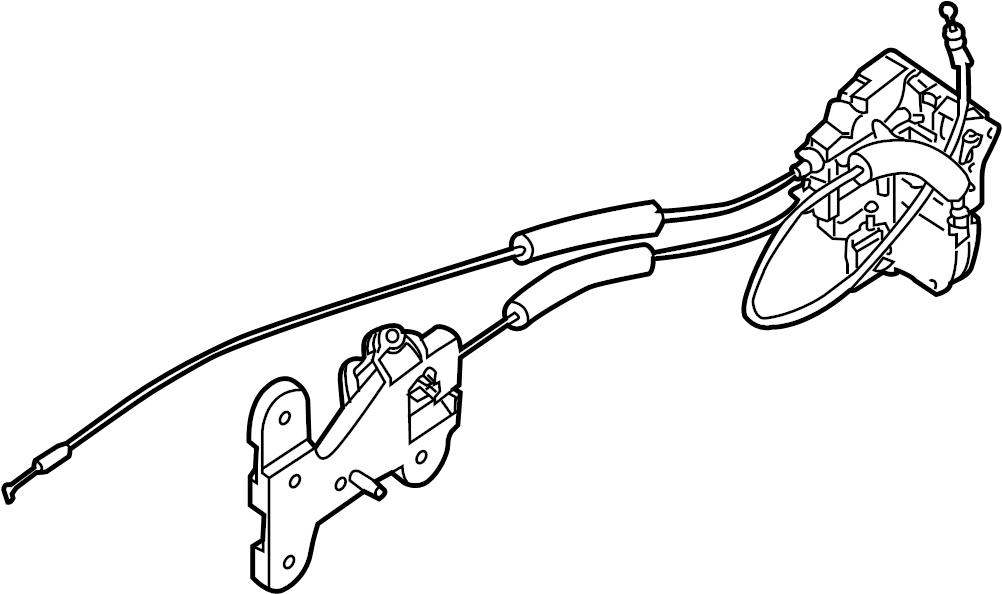 Nissan Titan Lock. Latch. Actuator. Armada; Left. LE & SE