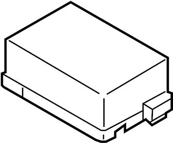 Nissan Armada Fuse Box Cover. ENGINE COMPARTMENT, driver