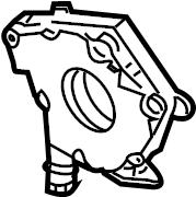 Nissan 350Z Engine Oil Pump. Manual, Trans, Pressure