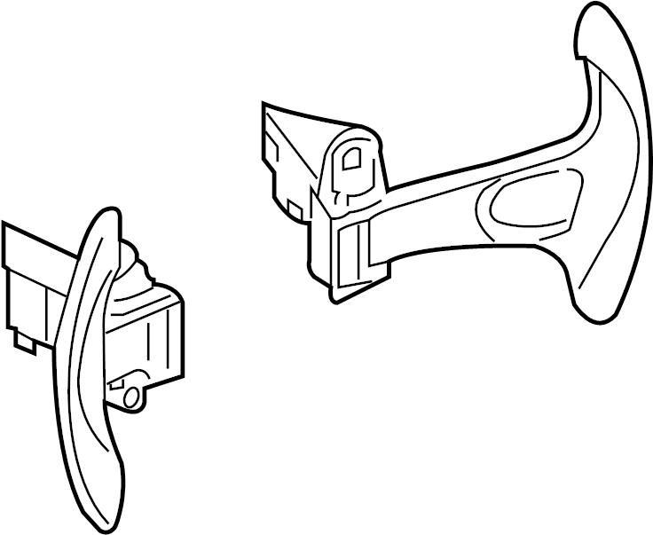 Nissan 370Z Steering Wheel Transmission Shift Control