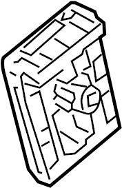 Nissan Altima Junction Block. COMPARTMENT, ENGINE, Hybrid