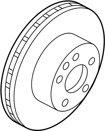 Nissan Pathfinder Disc Brake Rotor. Front, Left, Make