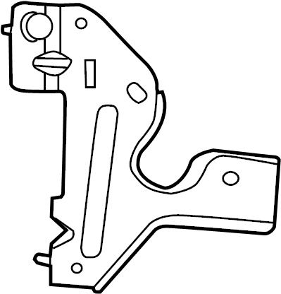 Nissan Altima Junction Block Bracket. INSTRUMENT PANEL