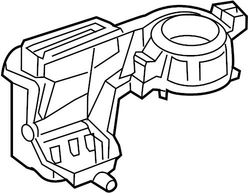 Nissan GT-R Hvac blower motor housing. Heater, fan