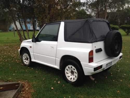 small resolution of  1996 suzuki vitara 12 months reg and rwc 1 6 manual located gippsland vic 4000 ono pm me for more info if interested