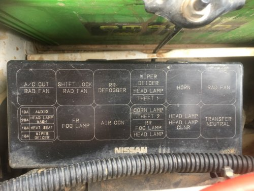 small resolution of nissan patrol gq fuse box