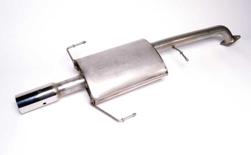 medium resolution of nissan motorsports borla muffler for b13 sentra