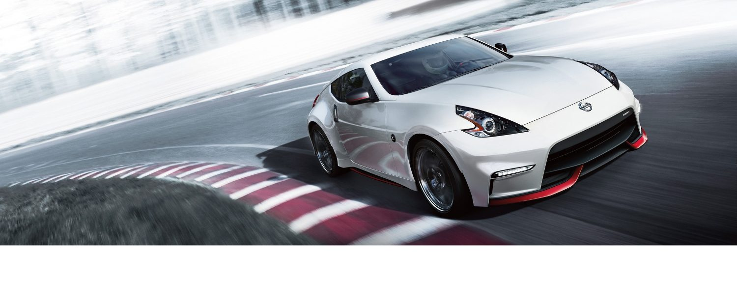 hight resolution of 370z nismo on racetrack
