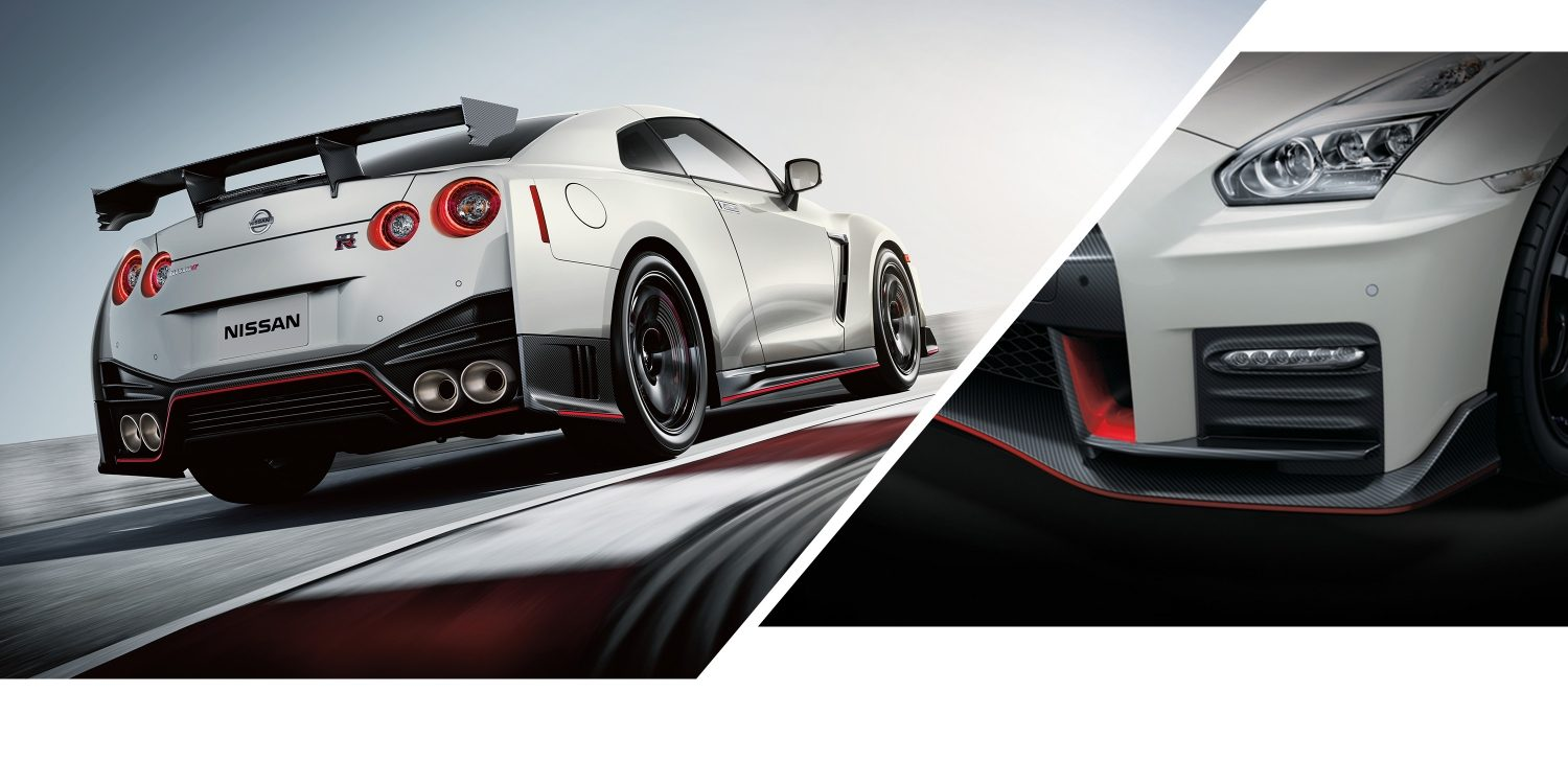 hight resolution of gt r nismo on track and close