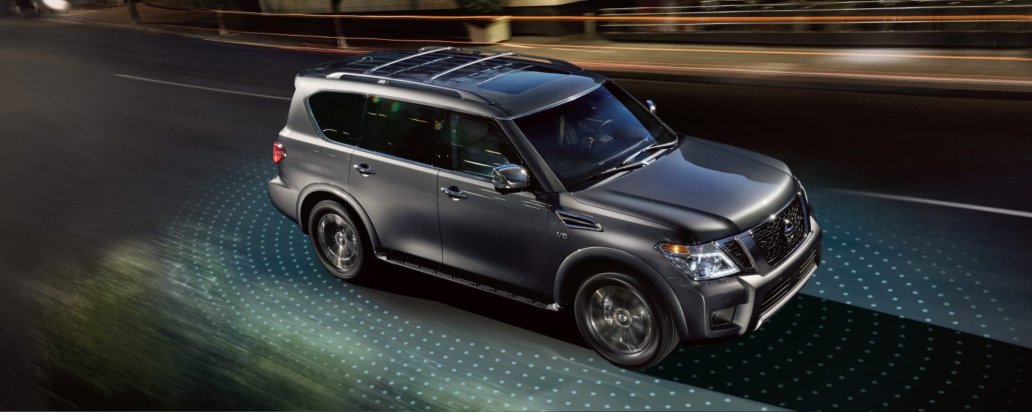 hight resolution of 2019 nissan armada driver assistance technology