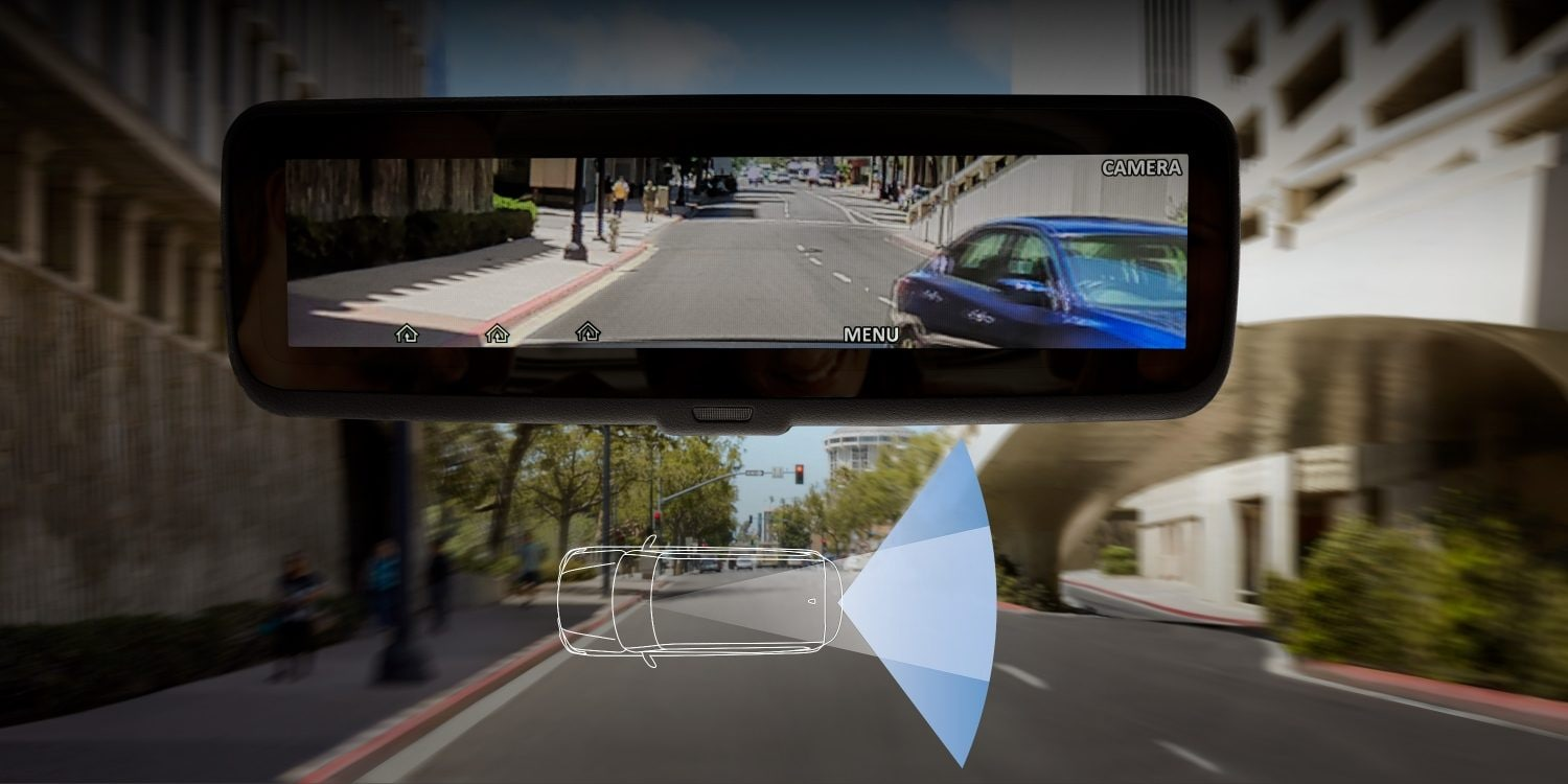 hight resolution of nissan armada technology showing intelligent rearview mirror