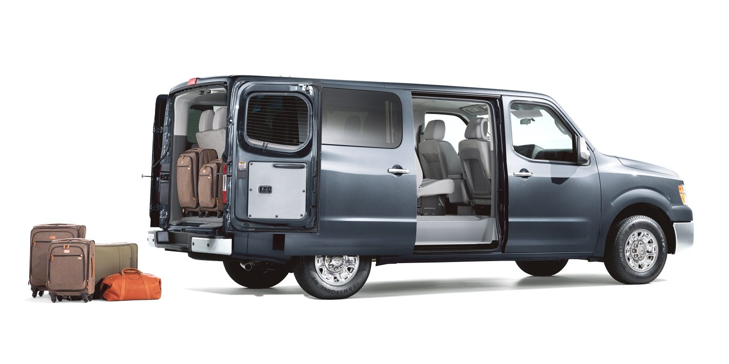 hight resolution of nissan nv passenger with doors