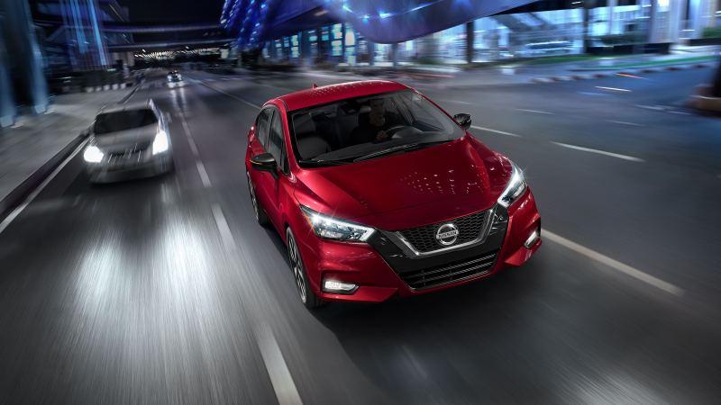 2020 Nissan Versa V-Motion grille