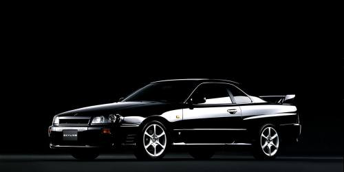 small resolution of 1998 nissan skyline 25gt turbo in black