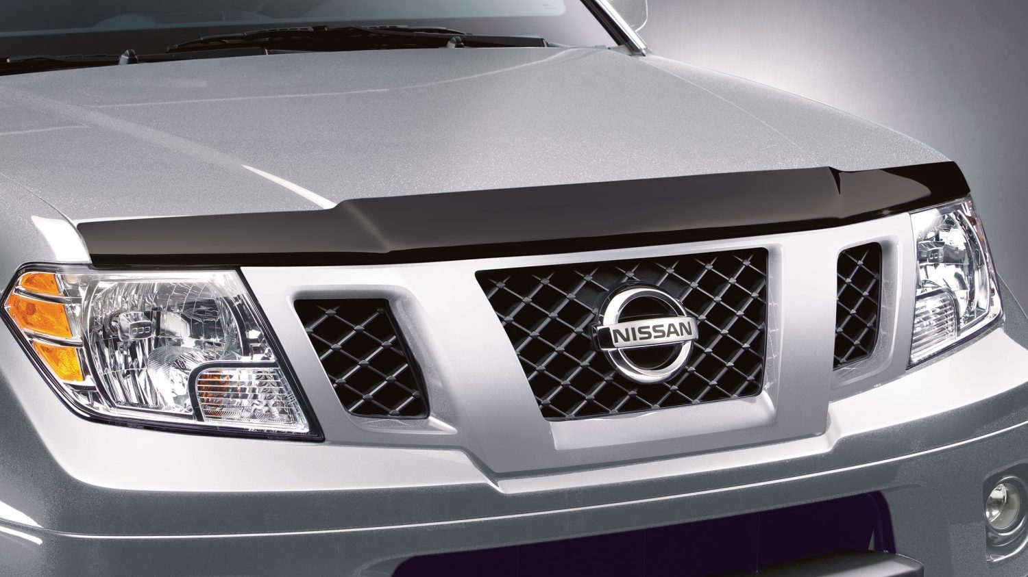 hight resolution of nissan frontier accessory hood protector