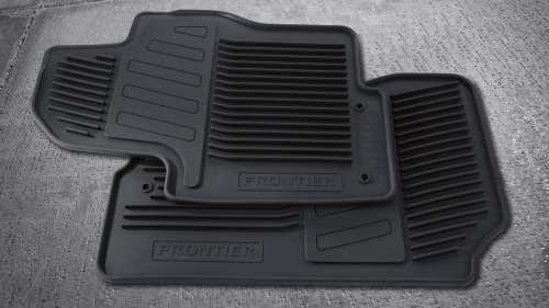 small resolution of nissan frontier all weather floor mats