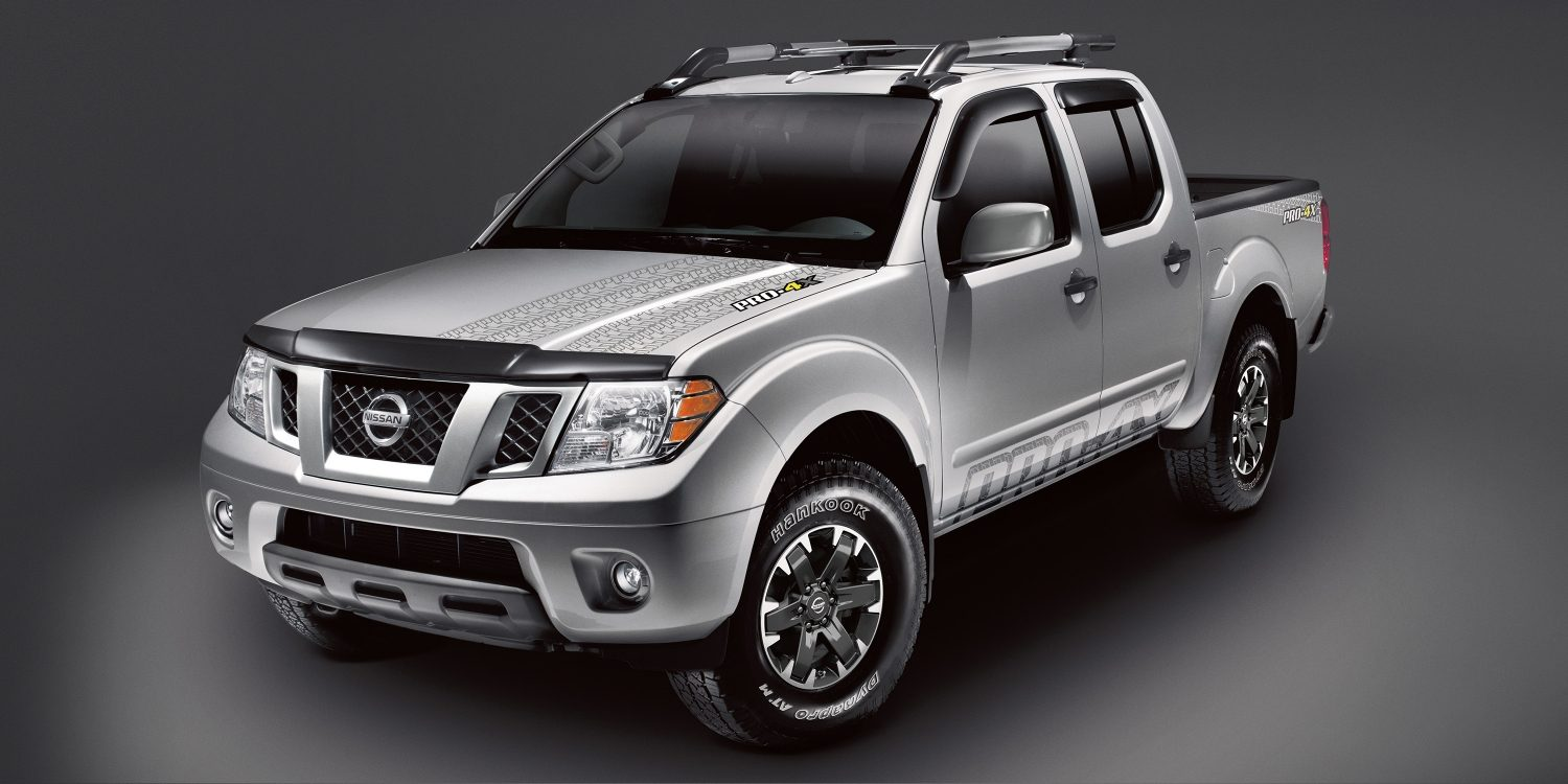 hight resolution of nissan frontier pro 4x with accessories shown