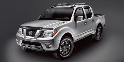 small resolution of nissan frontier pro 4x with accessories shown