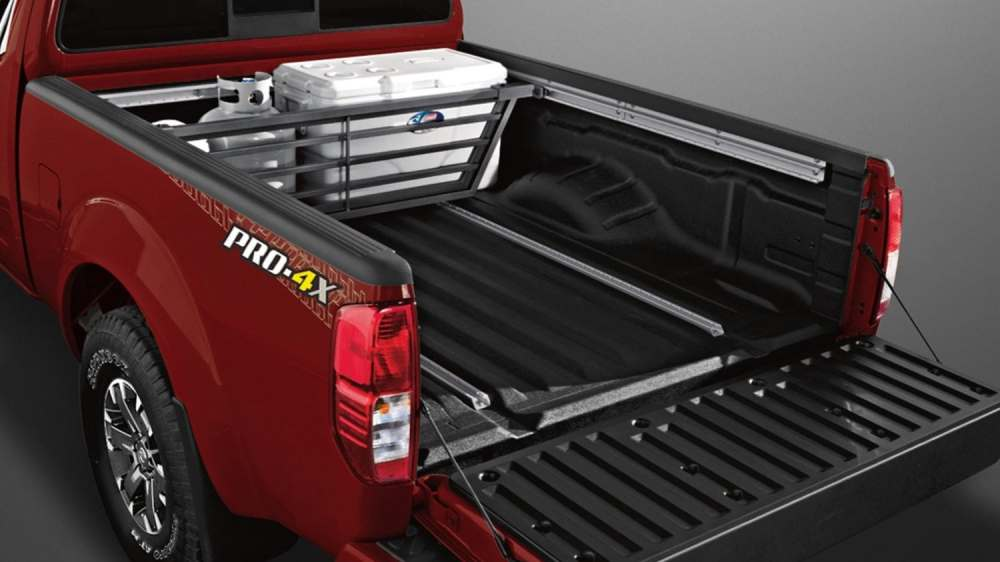 medium resolution of nissan frontier sliding bed divider