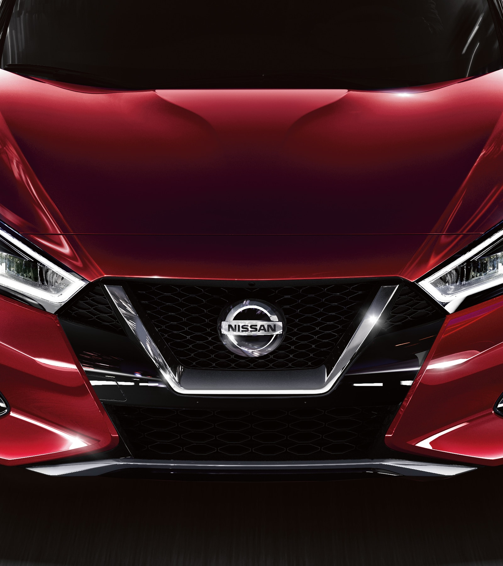 hight resolution of nissan maxima exterior finish in red