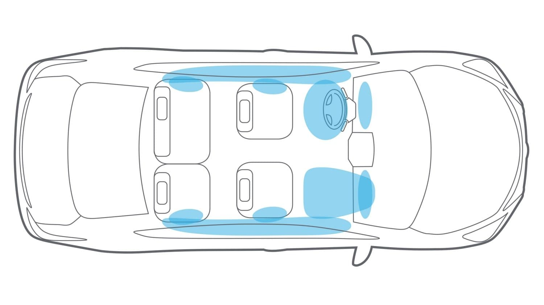 hight resolution of nissan maxima air bag system illustration
