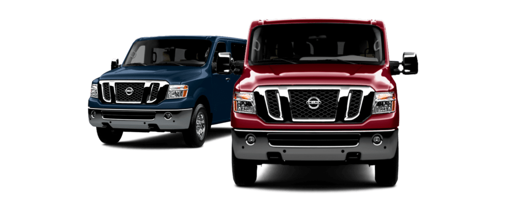 medium resolution of nissan nv passenger vehicles shown from