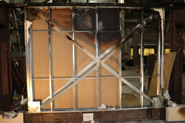 Cold Formed Steel Shear Wall With Strap Bracing Fire