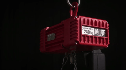 small resolution of electric chain hoist
