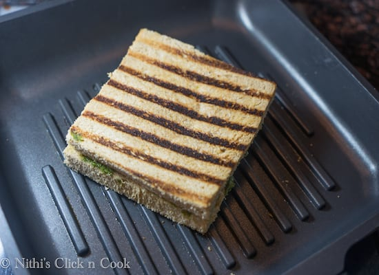 Thats it! Pesto Panini is ready to be served.