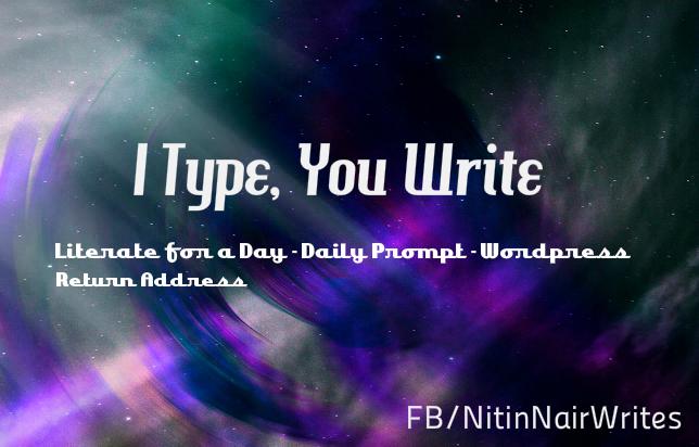 I Type, You Write