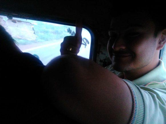 Amitav Thumbs Up