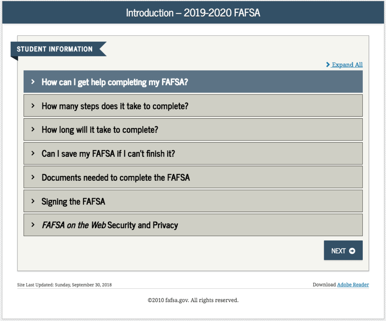 How To Complete The Fafsa Application