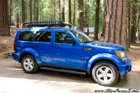 Nitro with Roof Rack, Cargo Basket and Rear Basket