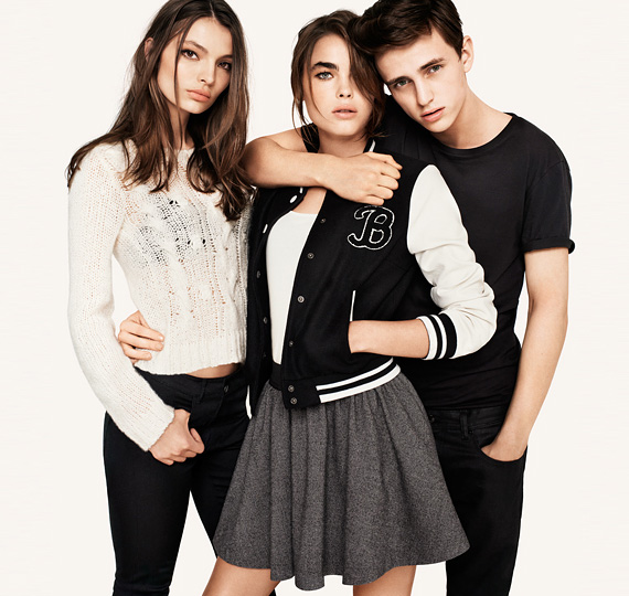 H&M Fall 2011 Ad Campaign ft. Anja, Freja & Bambi